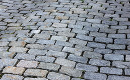 Kullerstenwalkway Royaltyfria Foton