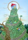 kullhus royaltyfri illustrationer