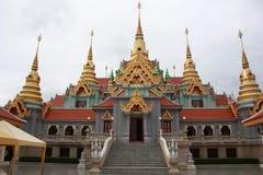 kullmedelpagoda thailand Royaltyfri Fotografi