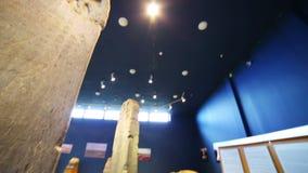 KULTEGIN'S MEMORIAL COMPLEX, MONGOLIA - JULY 2013: orkhon inscriptions, oldest turkic monuments Stock Images