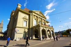 Kultur赌博娱乐场在伯尔尼在瑞士 图库摄影