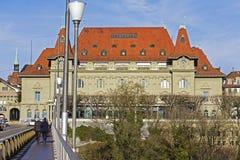 Kultur赌博娱乐场在伯尔尼在瑞士 免版税库存图片