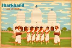 Kultur av Jharkhand Arkivbilder
