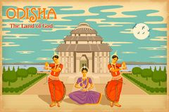 Kultur av Odisha Royaltyfri Foto