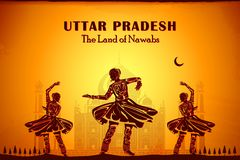 Kultur av Uttar Pradesh Fotografering för Bildbyråer