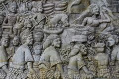Kultur-Entlastung von Lombok lizenzfreies stockfoto