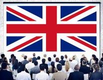 Kultur Liberty Concept för nationalitet för England landsflagga Royaltyfri Fotografi