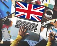 Kultur Liberty Concept för nationalitet för England landsflagga Arkivfoton