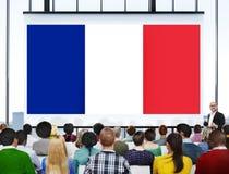 Kultur Liberty Concept för nationalitet för Frankrike landsflagga Royaltyfri Fotografi