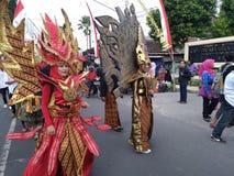 Kultur von Indonesien lizenzfreies stockfoto