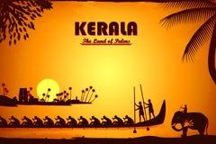 Kultura Kerala royalty ilustracja