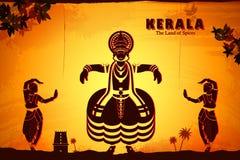 Kultura Kerala ilustracja wektor