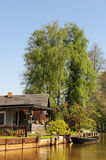 Kultura krajobraz Spreewald las w Brandenburg Niemcy Obraz Stock