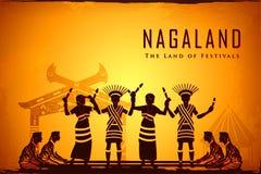 Kultura Nagaland royalty ilustracja