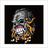 Kultura od Jawajskiego Indonezyjskiego wektorowego projekta royalty ilustracja