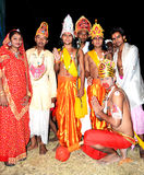Kulturalna sztuka ramayana w ind Obrazy Stock