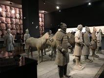 Kulturalne relikwie w Shaanxi historii Małomiasteczkowym muzeum zdjęcia royalty free
