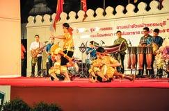 Kulturalny bębenu tana przedstawienie Zdjęcia Royalty Free