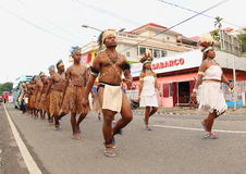Kulturalny festiwal Manokwari 2017 Obraz Royalty Free