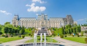 Kulturalny pałac w Iasi obraz royalty free