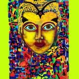 Kulturalny Religijny Ilustracyjny Kolorowy wizerunek ilustracji