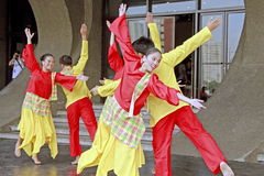 Kulturalny tancerz Obrazy Royalty Free
