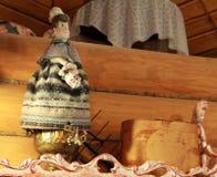 Kulturantikengoldrussischen Porzellans der Gottweinlese hindische alte Feier Indiens des religiösen, die rotes Asien-Kulturpuppen Stockfotos