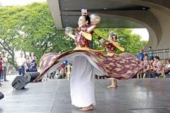 Kulturell dansare Arkivbild