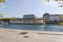 Kulturell mitt för Genève Fotografering för Bildbyråer