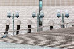 Kulturell mitt i Tsim Sha Tsui, Hong Kong Arkivbilder