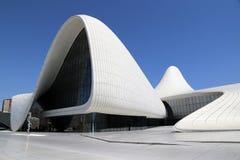 Kulturell mittbyggnad som namnges efter Heydar Aliyev royaltyfri bild