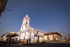 Kulturell und historisches Wahrzeichen Iglesia de San lizenzfreies stockbild