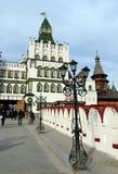 Kulturell-Unterhaltung komplexes ` der Kreml in Izmailovo-` stockbilder