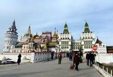 Kulturell-Unterhaltung komplexes ` der Kreml in Izmailovo-` lizenzfreie stockbilder