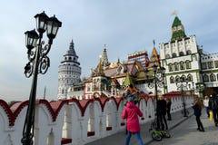 Kulturell-Unterhaltung komplexes ` der Kreml in Izmailovo-` stockfoto