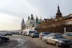 Kulturell-Unterhaltung komplexes ` der Kreml in Izmailovo-` stockfotografie