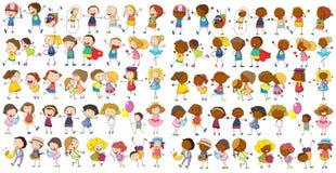 Kulturella barn Arkivbild