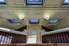 kulturella center chicago arkivfoto