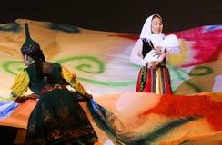 Kulturelle Leistungen in Kota Kinabalu Sabah Stockbilder