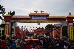 Kulturelle Traditionen Sudiro Grebeg Lizenzfreie Stockfotografie