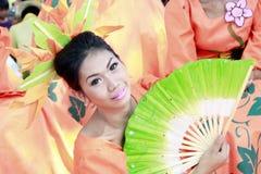 Kultureller Ausführender Stockfoto