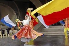 Kultureller Tänzer Stockfoto