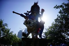 Kulturelles Festival am Strand lizenzfreie stockfotos