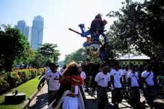 Kulturelles Festival am Strand lizenzfreies stockbild