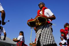 Kulturelles Festival am Strand lizenzfreies stockfoto