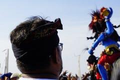 Kulturelles Festival am Strand stockbilder