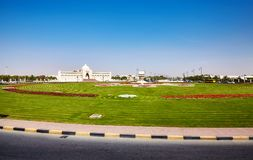 Kulturelles Quadrat in Scharjah, Vereinigte Arabische Emirate Lizenzfreie Stockbilder