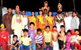 Kulturelles Spiel von ramayana in Indien Stockfoto