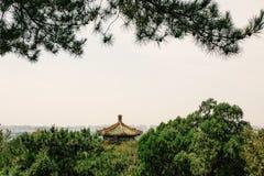 Kulturellt landskap av porslinet för sommarslott fotografering för bildbyråer
