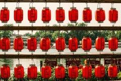 Kulturellt landskap av porslinet för sommarslott arkivfoto